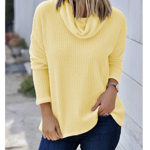 07d016dbb4 Turtleneck Knitted Women Sweaters Autumn Winter Sweaters Thin 2XL Plus Size  Tops Casual Loose Ladies Pullover Femme Shirt M0282B
