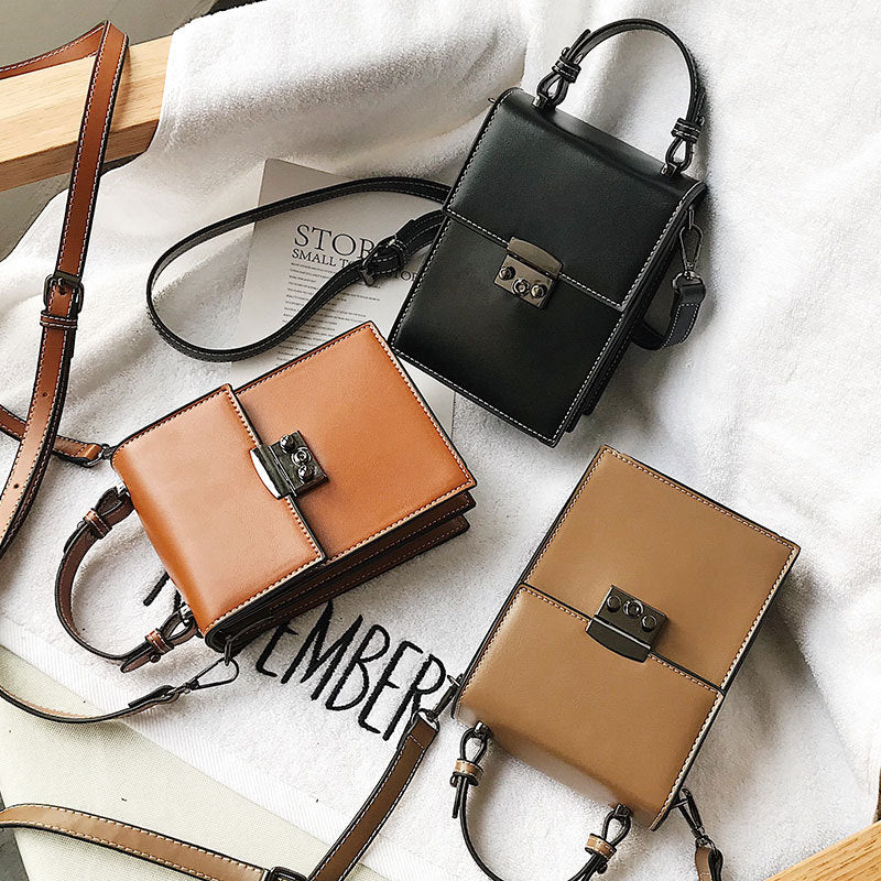 Retro Small Flap Bags for Women Designer PU Leather Shoulder Messenger Bag Lady Girls High Quality Crossbody Bags Women Bolsa