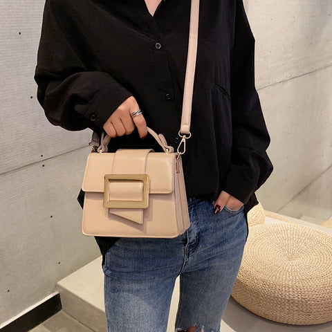 61d91ab1eb3c British Fashion Women s Designer Purse and Handbag 2018 New High quality PU  Leather Women Square bag Tote Shoulder Crossbody Bag