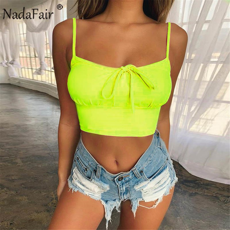 3a7c38d1992d sexy cop tops women summer sleeveless lace up casual cropped tank tops  camis women clothes 2019