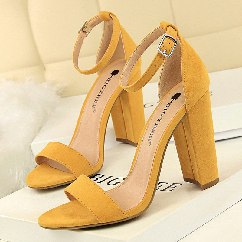 BIGTREE Shoes Women High Heels New Women Pumps Sexy Ladies Shoes Women Sandals Fashion Kitten Heels Women Wedding Shoes