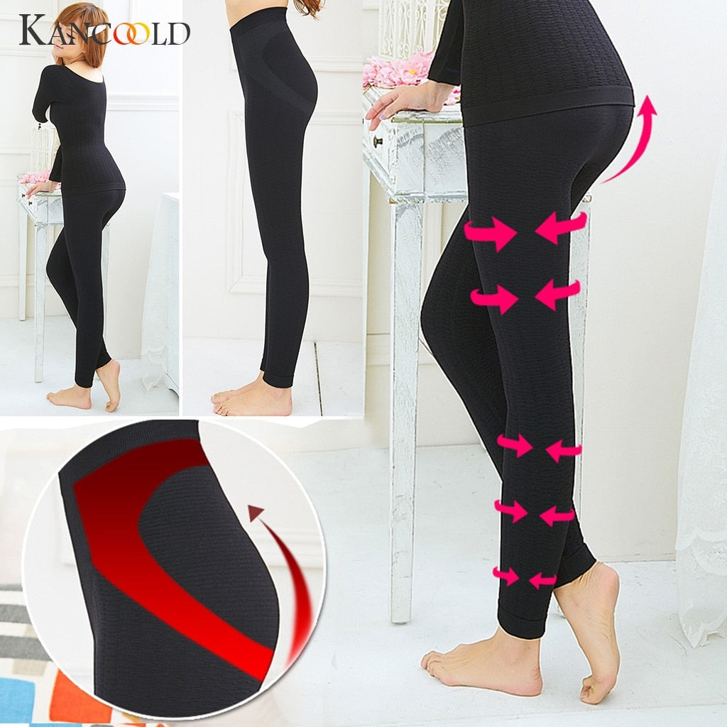 KANCOOLD Pants Leggings Sculpting Sleep Leg Shaper Panties Legging Body Shaper Seamless new pants woman 2019JAN2