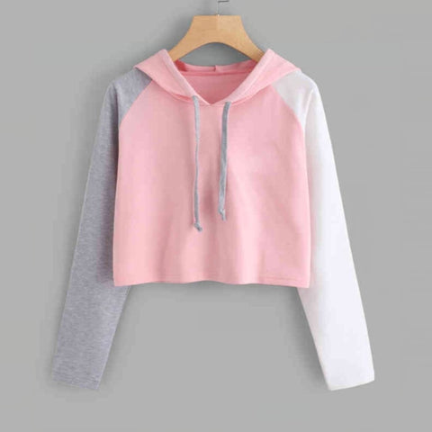 a212fb6c9 New Sweatshirts For Women Harajuku Cute Sweet Hoodies Sexy Short ...