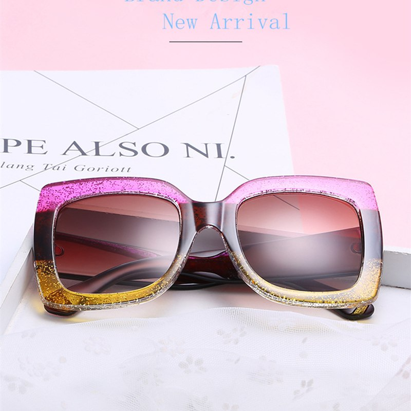 7484ace346 2019 Fashion Square Sunglasses Women Brand Designer Summer Style Unique Vintage  Sun Glasses For Women Female