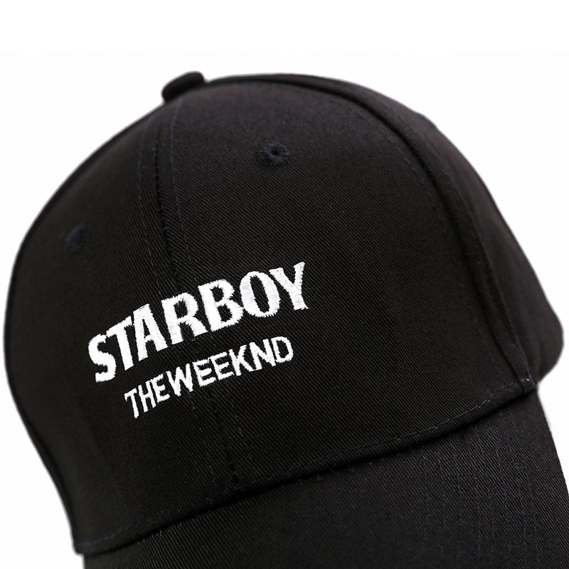 100% Cotton The Weeknd Starboy Hats and Stargirl Hats XO Dad Hat Baseball  Caps Snapback 50cae77ae7b
