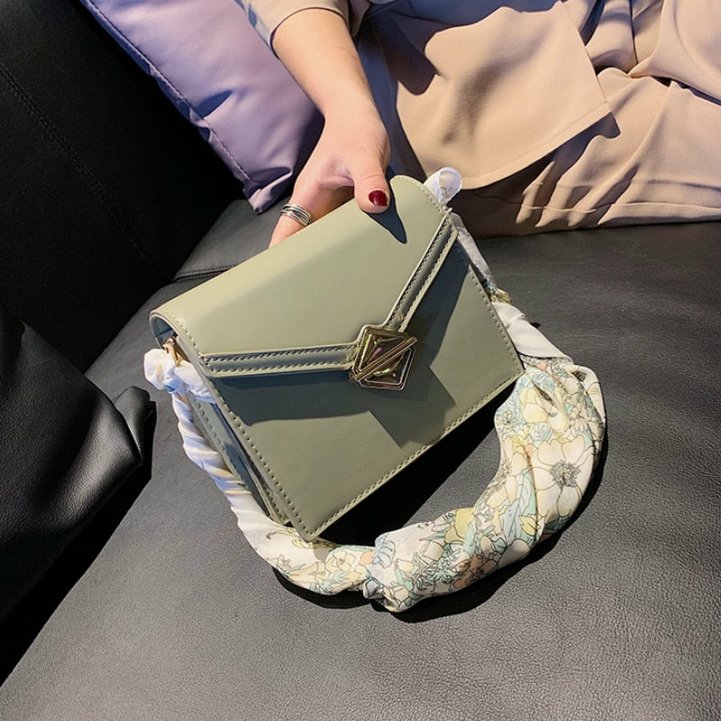 Women Ribbon Messenger Bags Mini Small Square Pack Shoulder Bag Crossbody Package Clutch Women Designer Purse and Handbag