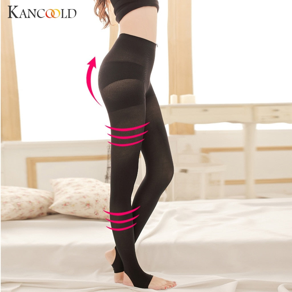 KANCOOLD Pants Leggings Women Sculpting Sleep Leg Shaper Seamless Pants Legging Body Shaper Footsteps pants woman 2019JAN2
