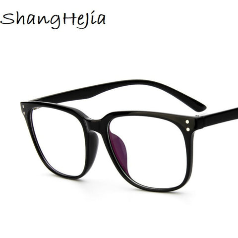 663113748ac7 2018 Eyeglasses Men Women Square Brand Designer Eyewear Frame Retro Optical  Computer Female Transparent Eye Glasses Frame Oculos
