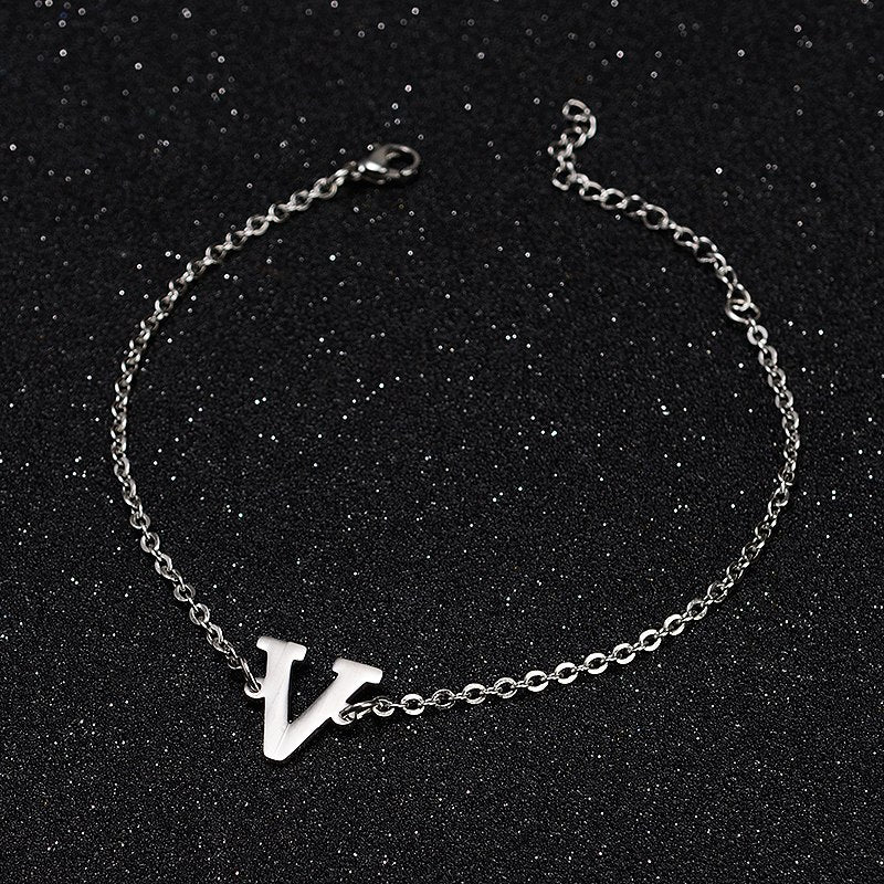 Kpop Bts Bangtan Boys Army Jimin Name Letter Stainless Steel Bracelet Bangle Adjustable Bracelets For Jewelry Party Gifts Chain & Link Bracelets