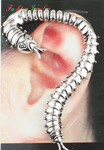 682d0657a C146 Hot New Style Fashion Vintage Western Ancient Insect Beast Dragon Ear  Cuff Clip Earrings Jewelry Accessories