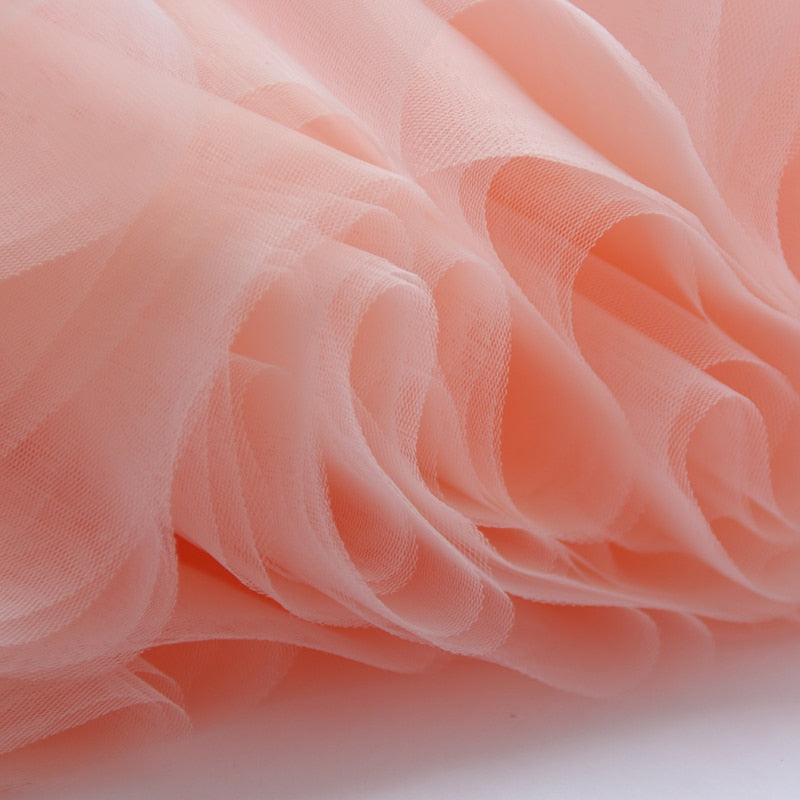 f92c4c8bbe 7 Layers Midi Tulle Skirt for Girls Fashion Tutu Skirts Women Ball Gown  Party Petticoat Lolita