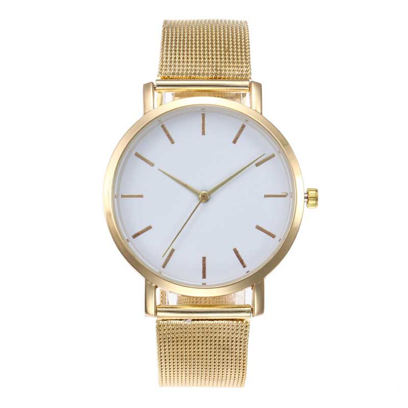 Top Brand Rose Gold Watch Women Luxury Stainless Steel Ladies Wristwatches Wuartz Clock High Quality Silver Watches