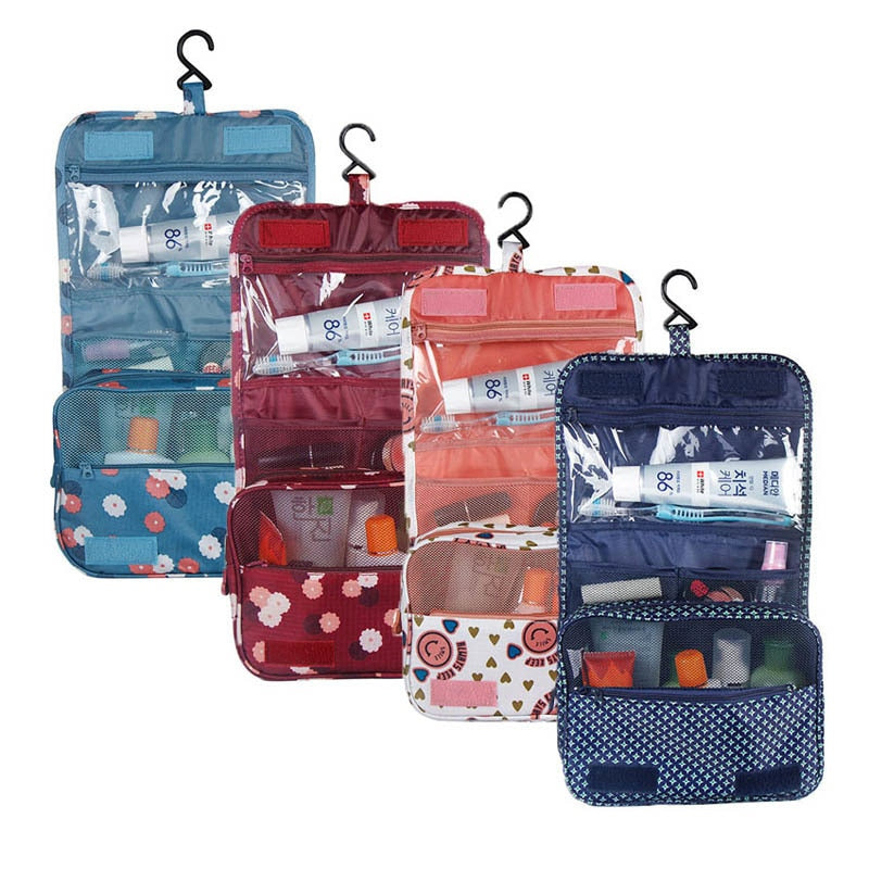 Women and Men Large Waterproof Makeup Bag Women Travel Toiletry Wash Toiletry Bag MakeUp Case Cosmetic Make Up Wash Toiletry