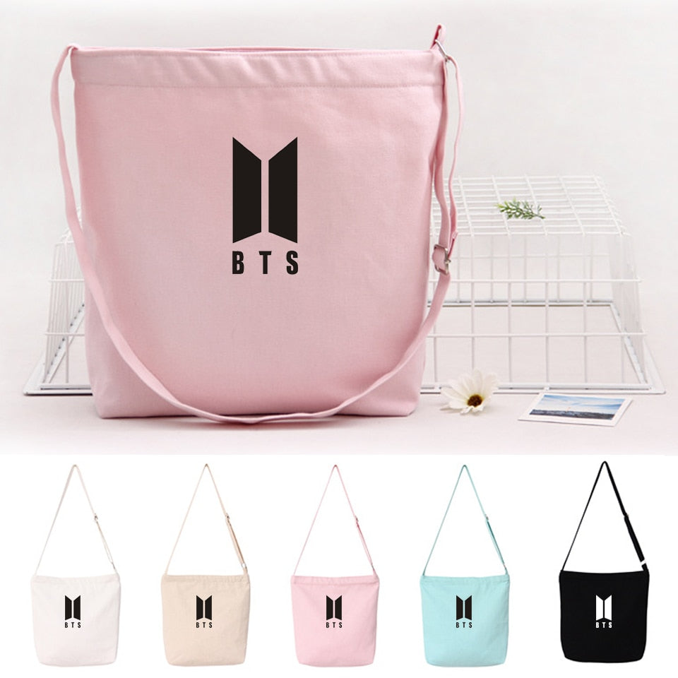 BTS women and men bags gift new arrive