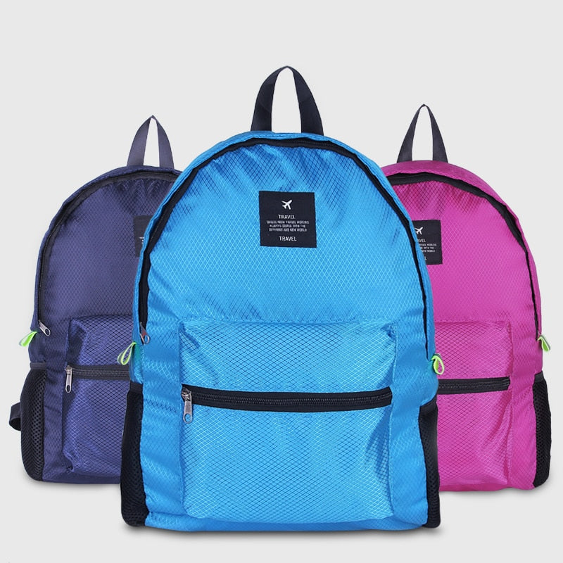 New Folding Travel Bag Large Capacity Waterproof Printing Bags Portable Women's Tote Bag Travel Bags Women Travel