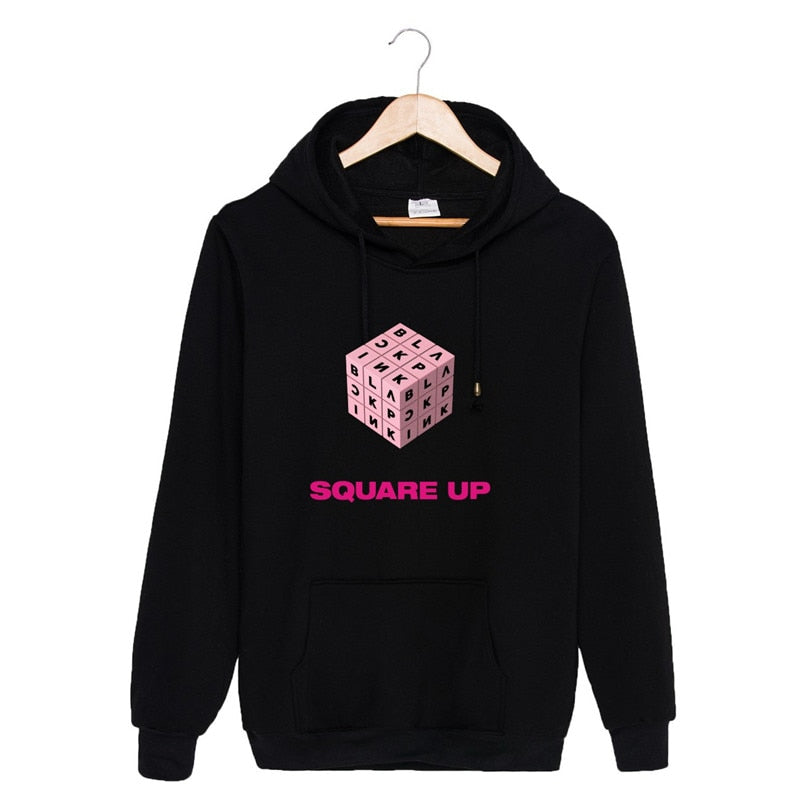 Blackpink Album SQUARE UP Hoodies Pullovers Sweatshirts