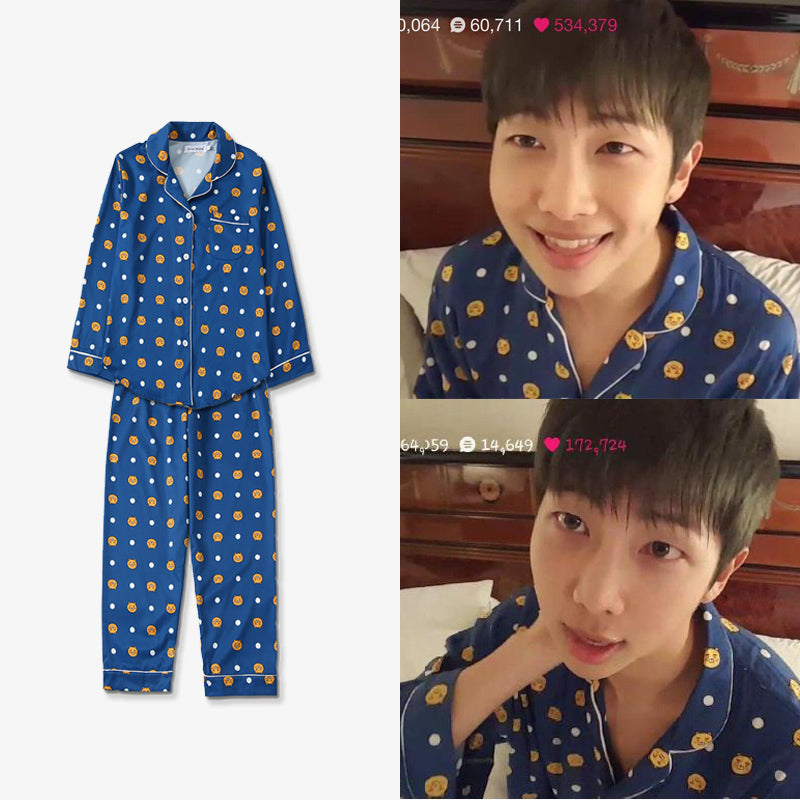 BTS rm rap monster same pajamas