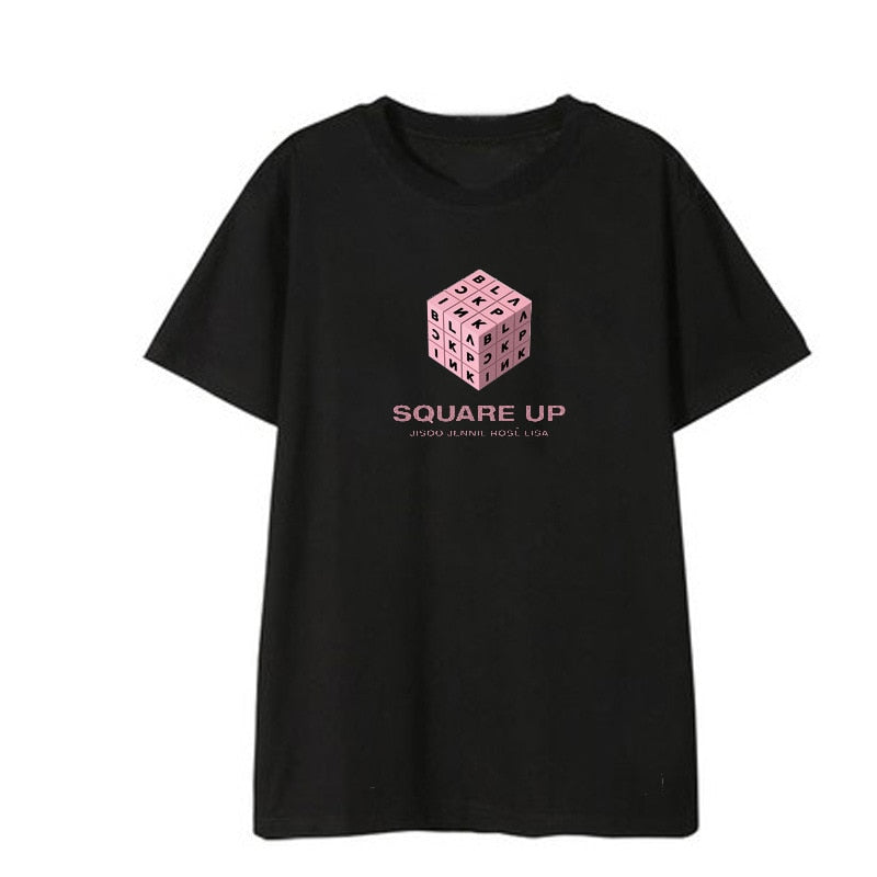 BLACKPINK SQUARE UP Album Shirt Tshirt T Shirt