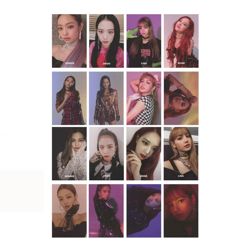 BLACKPINK SQUARE UP Album Photo Card Photocard
