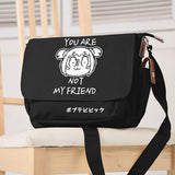 Anime POP TEAM EPIC cosplay Student shoulder bag Messenger bag Japan and South Korea school bag