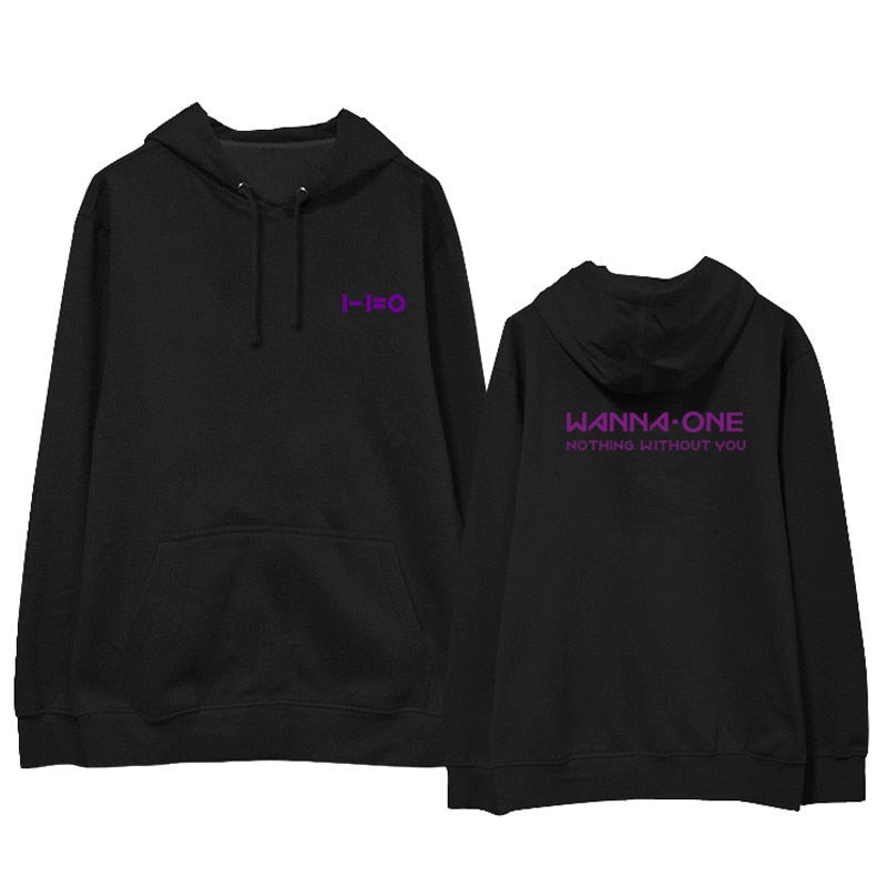 WANNA ONE Nothing Without You Album Hoodie  Sweatshirts