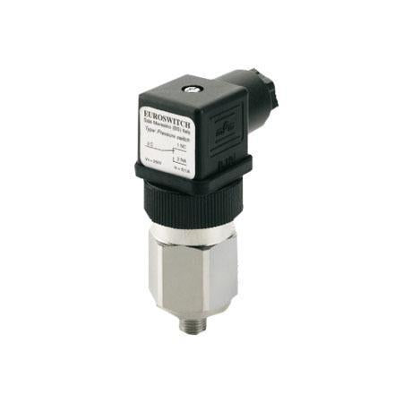 EUROSWITCH Pressure Sensor – Model 49 Diaphragm Pressure Switch (0.3-1.5 bar) Stainless Steel