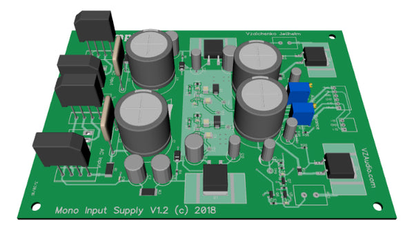 Mono Input Supply board 3D