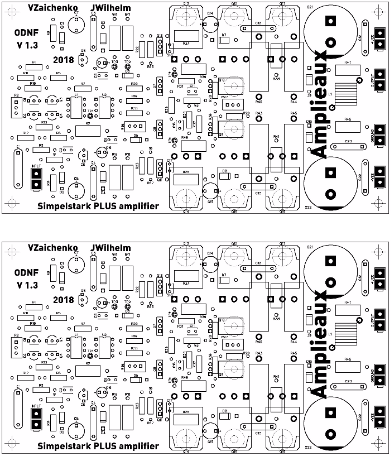 Simpelstark AX2 (V1.32) boards set (2 x PCBs)