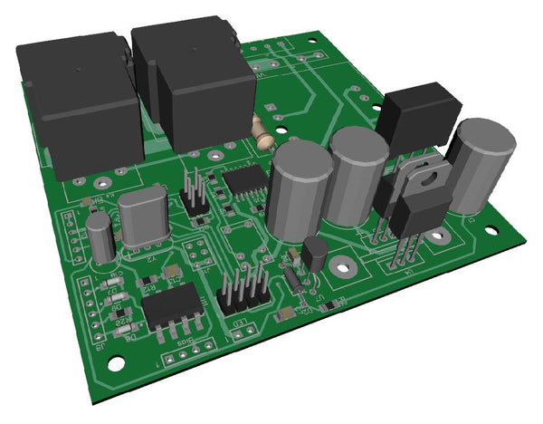 Amp Control Board 6 V2.3 kit (PCB + parts)