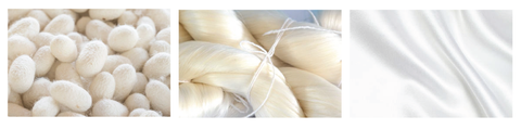 silk production process from scratch to finishing result