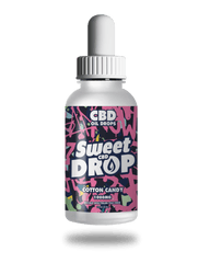 Sweet Drop Cotton Candy CBD Oil Drops 1000mg