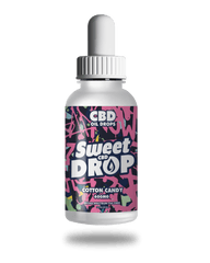 Sweet Drop Cotton Candy CBD Oil Drops 600mg