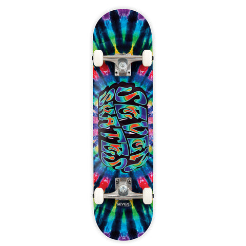 "Bright Lights Tie Dye 7.8"" Complete"