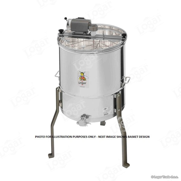 Logar 4 Frame Electric Extractor - No Middle Axle