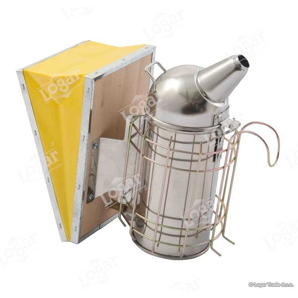 Logar Stainless Steel Smoker with Guard & Inner Chamber 8cm