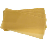10 Sheets Full Depth Bees Wax Foundation