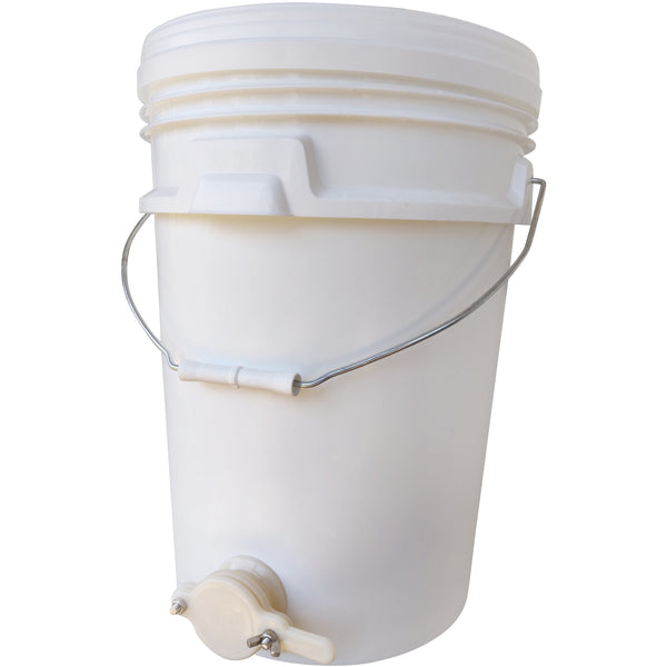 20 Litre Plastic Settler Tank with Budget Honey Gate