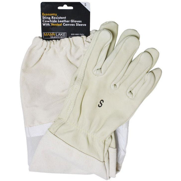 Mann Lake Economy Vented Leather Gloves
