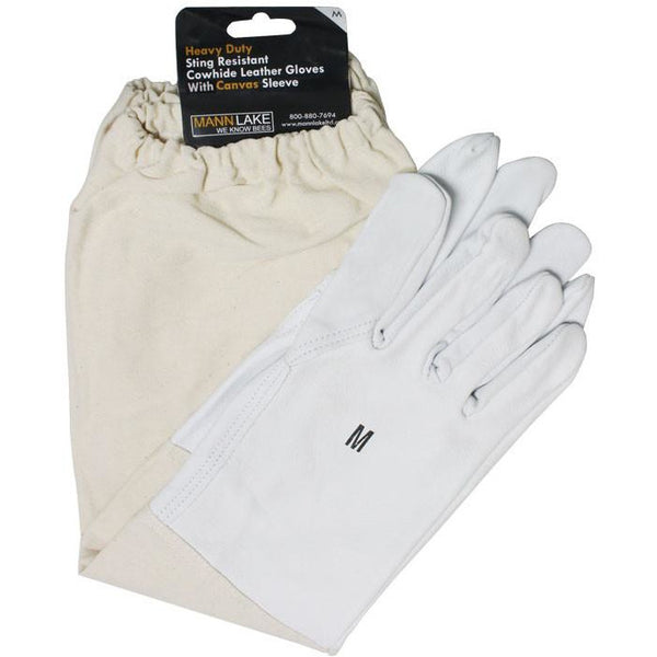 Mann Lake Economy Leather Gloves