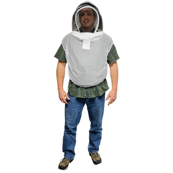 Mann Lake Beekeeping Vest with Hood