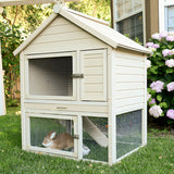 New Age Pet EcoFLEX Huntington Townhouse Rabbit Hutch