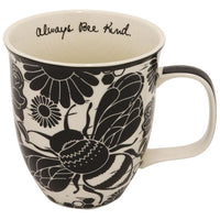 Boho Bee Mug - Black and White