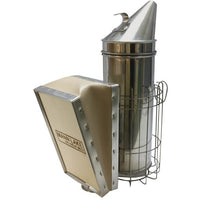 "Mann Lake 4x10"" Smoker - Wood Bellow with Guard"