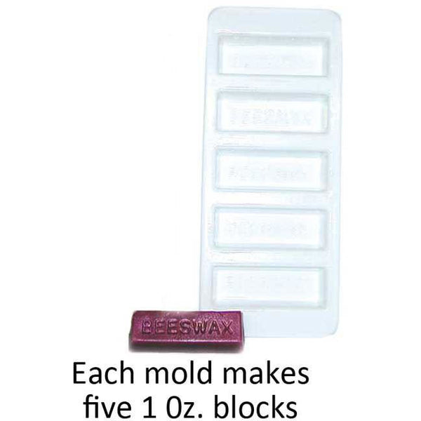 Mann Lake 1 oz (28.34g) Plastic Bar Mold