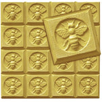 Bee Square Soap Mold