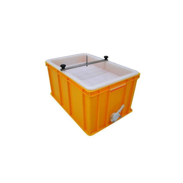 Lyson Plastic Uncapping Tray and Strainer - 30cm High