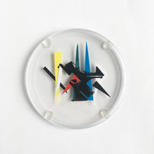 Load image into Gallery viewer, Abstract Coasters made from offcuts and found papers