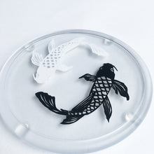 Load image into Gallery viewer, Papercut Koi Coaster