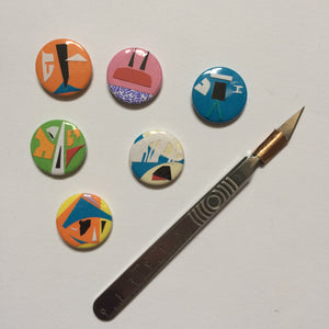 Offcut badges