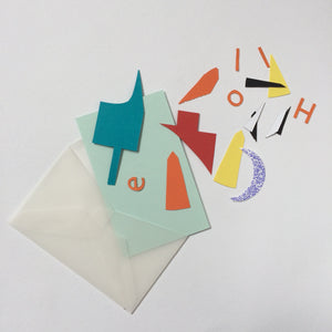 Envelope of Offcuts - Make your own mini offcut artwork